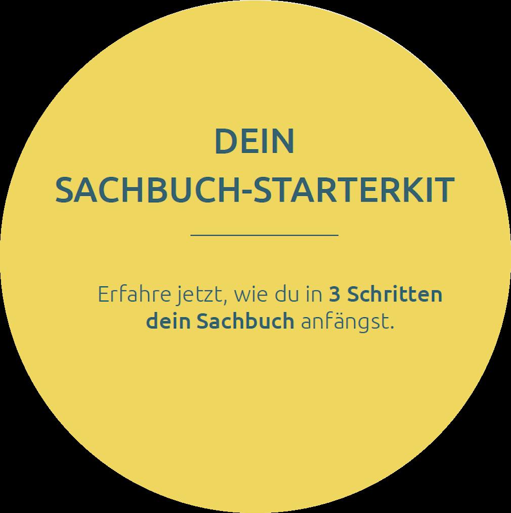 Sachbuch-Starterkit: fange in drei einfachen Schritten dein Sachbuch an